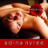Image is of the Adina Nyree logo. This company is a past or current client of One Epiphany.
