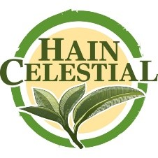 Image is of the Hain Celestial logo. This company is a past or current client of One Epiphany.