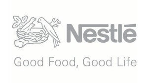 Image is of the Nestle logo. This company is a past or current client of One Epiphany.