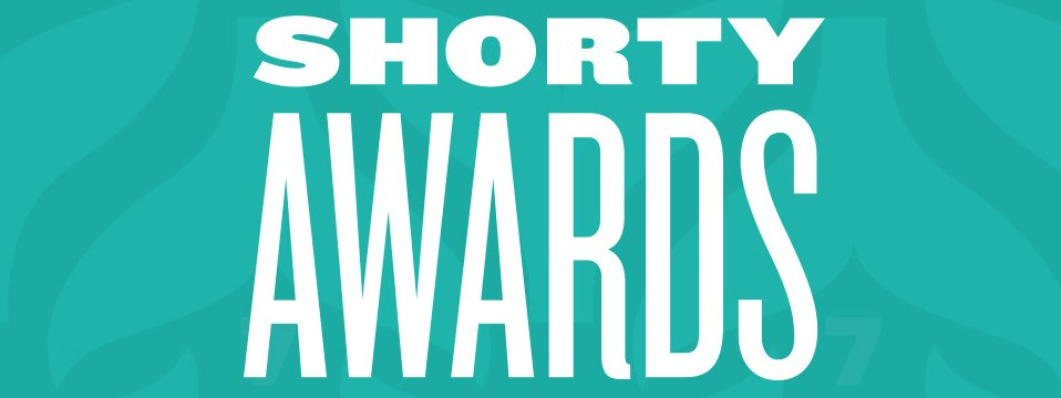Text only Shorty Awards logo.
