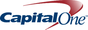 Image is of the Capital One logo. This company is a past or current client of One Epiphany.