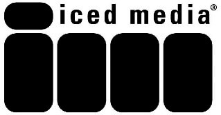 Image is of the iced media logo. This company is a past or current client of One Epiphany.
