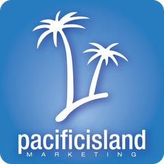 Pacific Island Marketing logo. This company is a past client of One Epiphany.