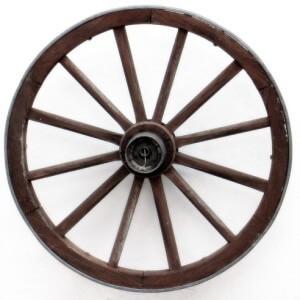 Wagon wheel and social media analogy